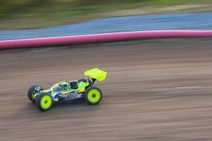 Prague, Czech Republic, - November 01, 2014: Radio Controlled model of sport rally car